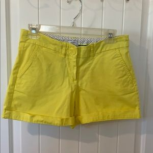 Crown and Ivy Yellow shorts